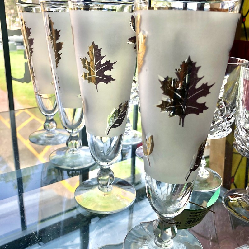 Frosted Glasses  Set Of 4
