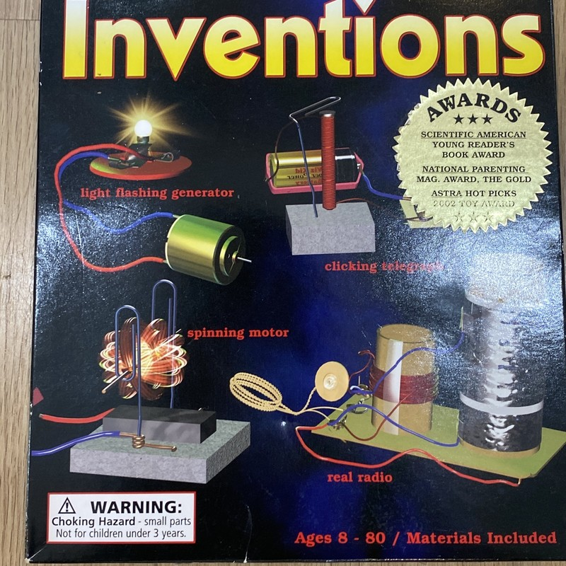 Science Wiz, Inventio, Size: OS