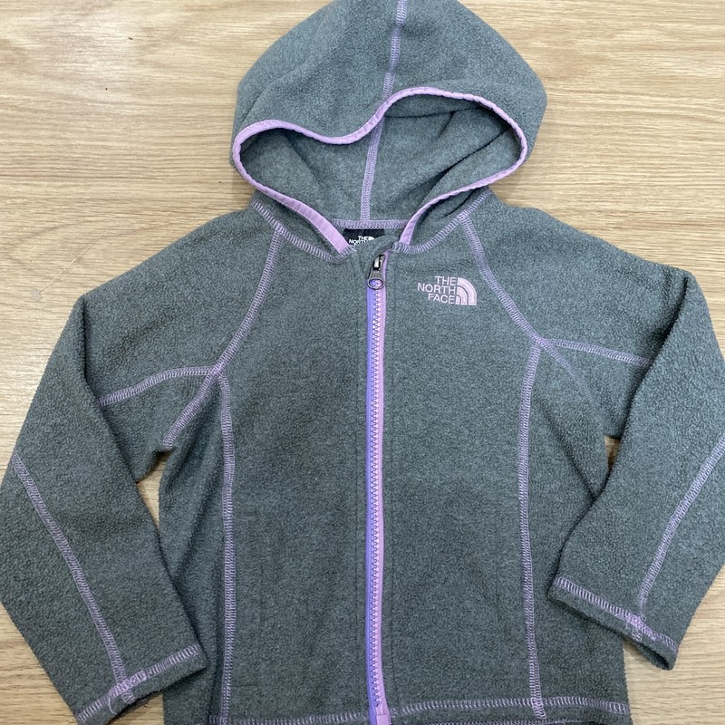 The North Face, Grey/pin, Size: 3T