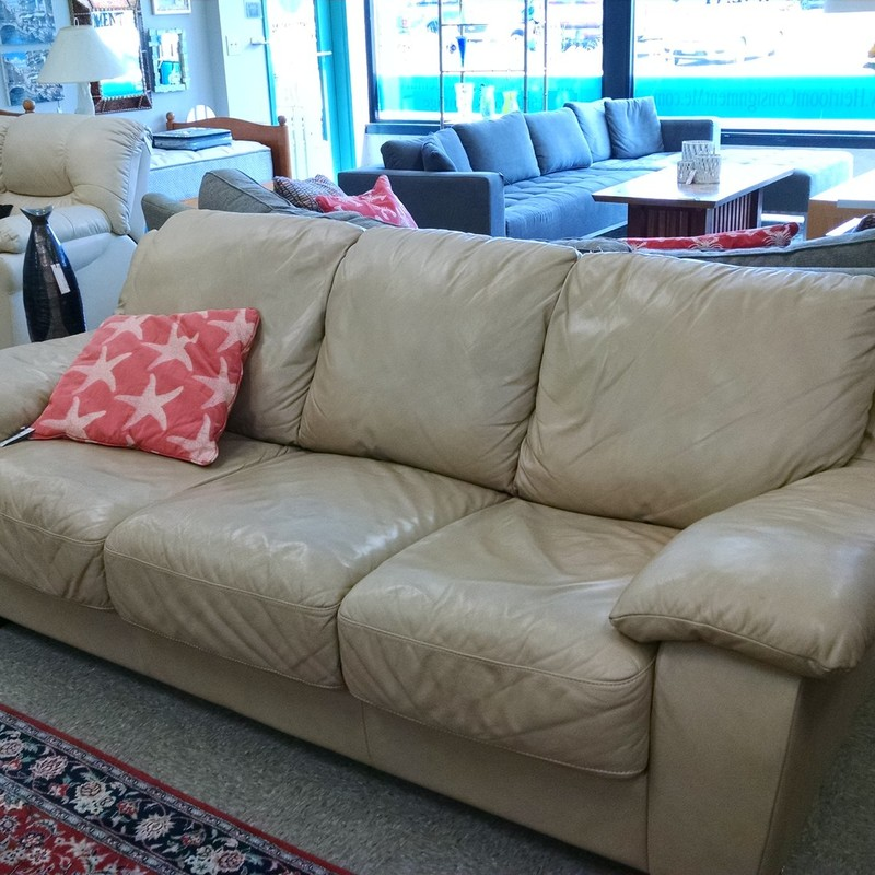 Italian 3 Cushion Sofa