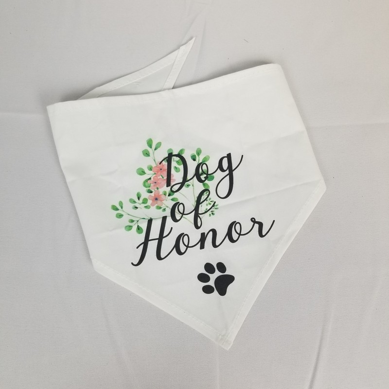 Dog Of Honor Bandana.