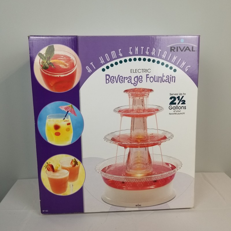 Beverage Fountain.