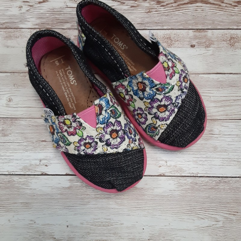 Toms Denim Flowers.