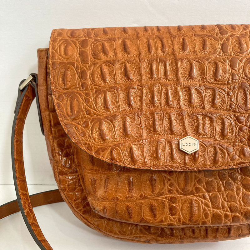 Lodis<br /> Brown Crossbody<br /> Adjustable Strap