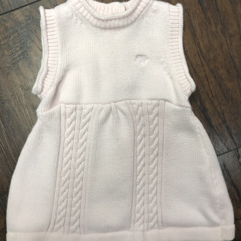 Tommy Hilfiger knit dress, Pink, Size: 0/3M