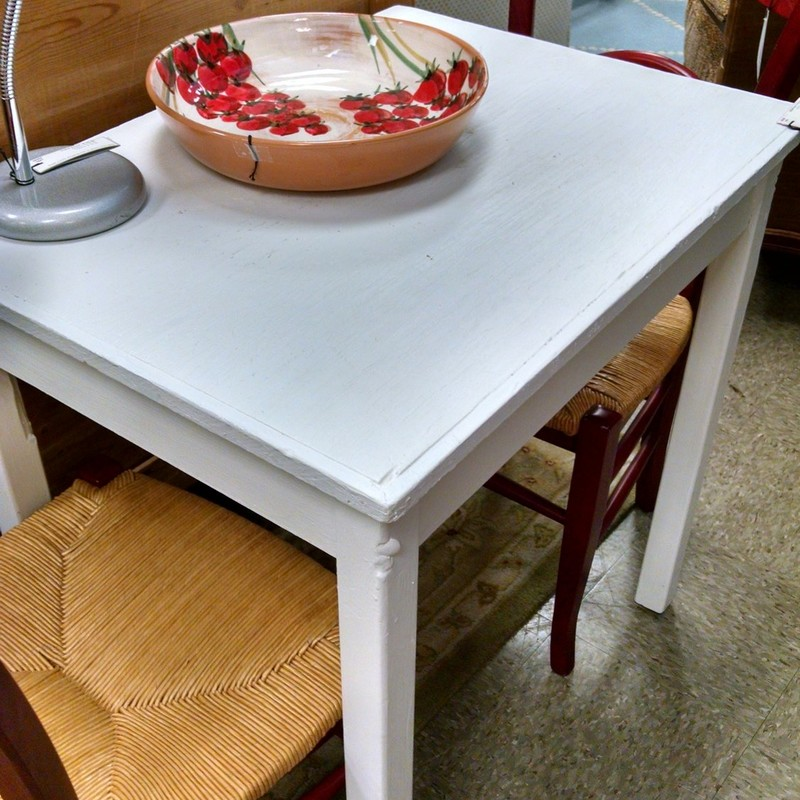Painted Shabby Chic Table