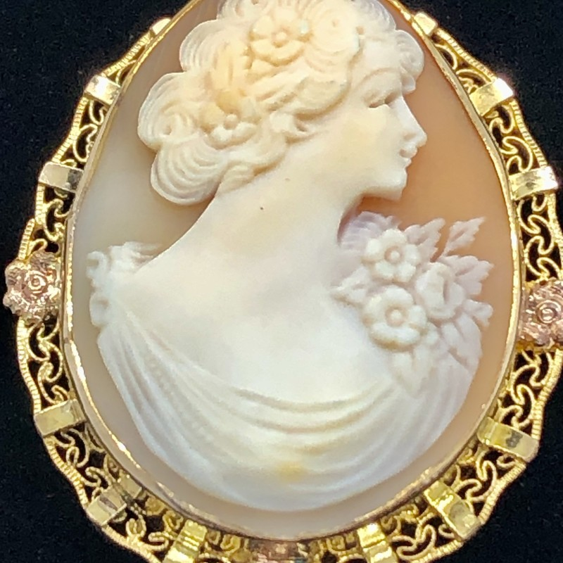 Cameo Brooch/Necklace.