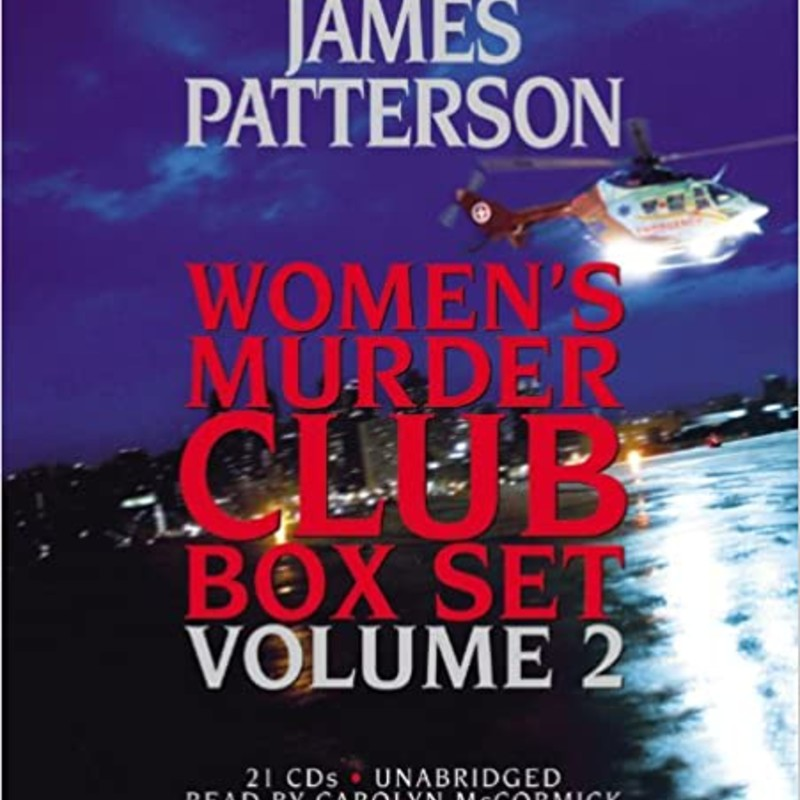 Audio<br /> James Patterson<br /> Women's Muder Club Box Set<br /> Volume 2<br /> MysteryThe 4th of July<br /> In a late-night showdown after a near-fatal chase, San Francisco police lieutenant Lindsay Boxer has to make an instantaneous decision -- and sets off a chain of events that leaves a police force disgraced and an entire city divided. As summer comes into full swing, Lindsay and her friends in the Women's Murder Club battle for her life on two fronts: before a judge an jury as her trial comes to a climax, and facing unknown adversaries who will do anything to keep her from the truth.<br /> <br /> The 5th Horseman<br /> It is a wild race against time as Lieutenant Lindsay Boxer and the newest member of the Women's Murder Club, attorney Yuki Castellano, lead an investigation into a string of mysterious patient deaths and reveal a hospital administration determined to shield its reputation at all costs. While the hospital wages an explosive court battle that grips the entire nation, the Women's Murder Club hunts for a merciless killer among its esteemed medical staff.<br /> <br /> The 6th Target<br /> While Assistant District Attorney Yuki Castellano prepares to prosecute the toughest trial of her life, the city is in the grip of a chilling crime spree. Children of well-to-do families are being abducted. But the kidnappings are followed by devastating silence -no demand for ransom. Working frantically with her new partner, Lindsay Boxer struggles to find the connection that will help them make sense of these horrific crimes.