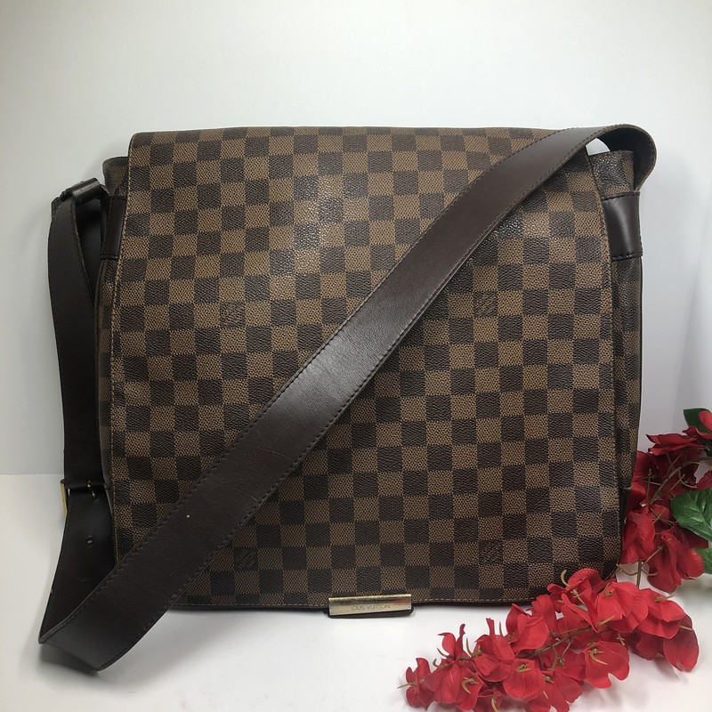 Louis Vuitton Damier Ebene Messenger, -, Size: -