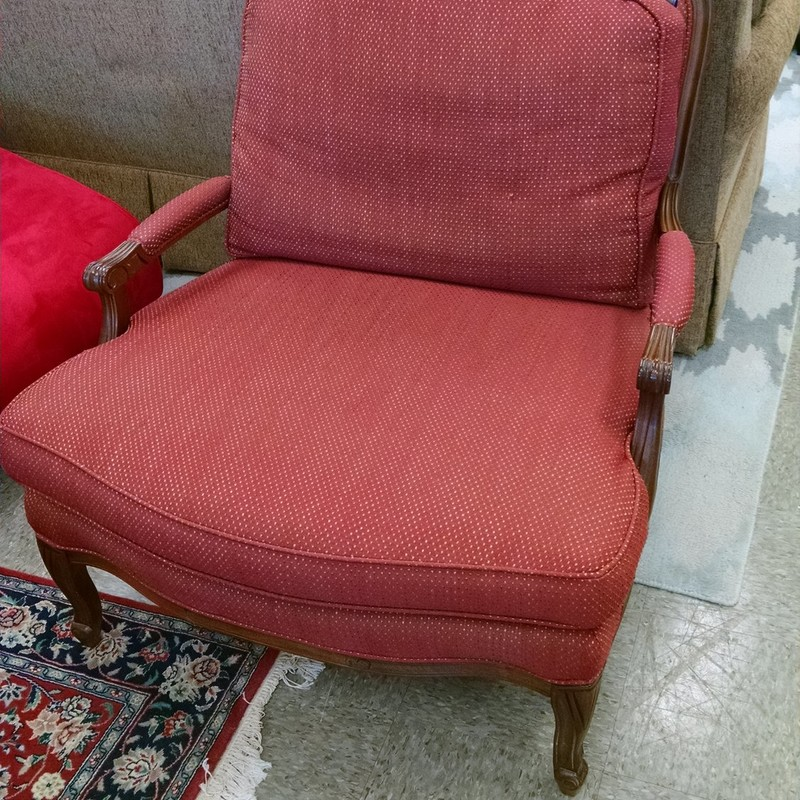 Modern Side Chair, Red, Size: None