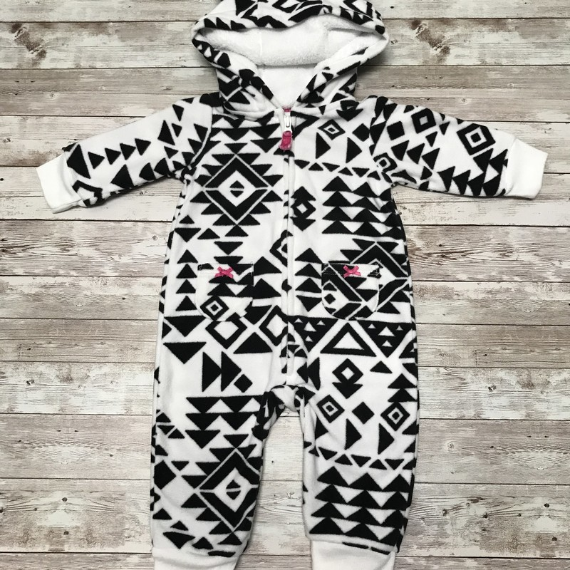 Carters Fleece Romper.