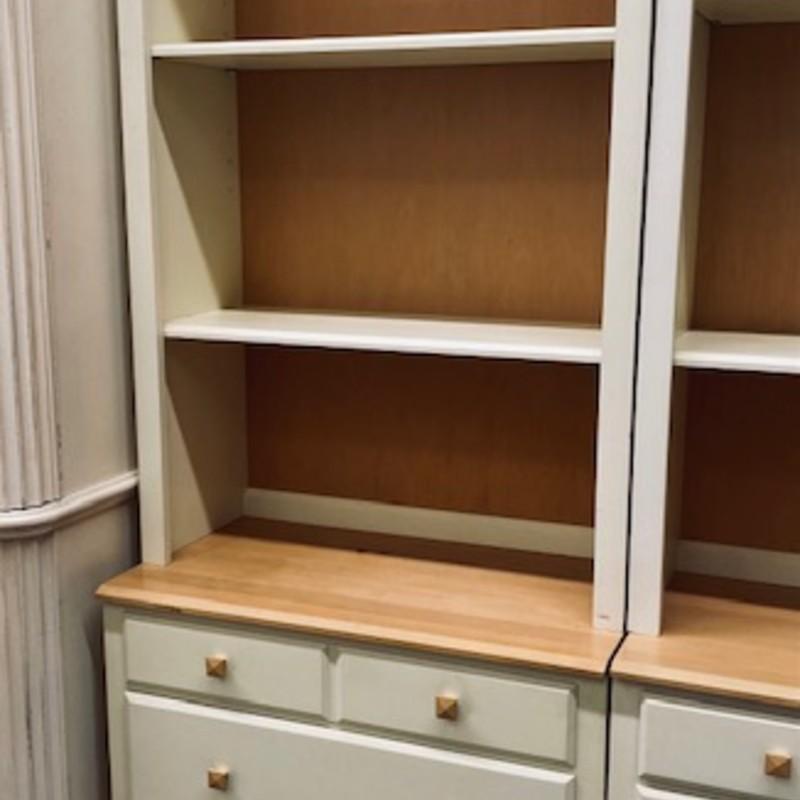 Ethan Allen Chest+Hutch.