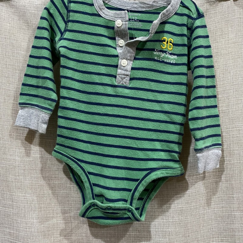 Carters, Green/bl, Size: 12m
