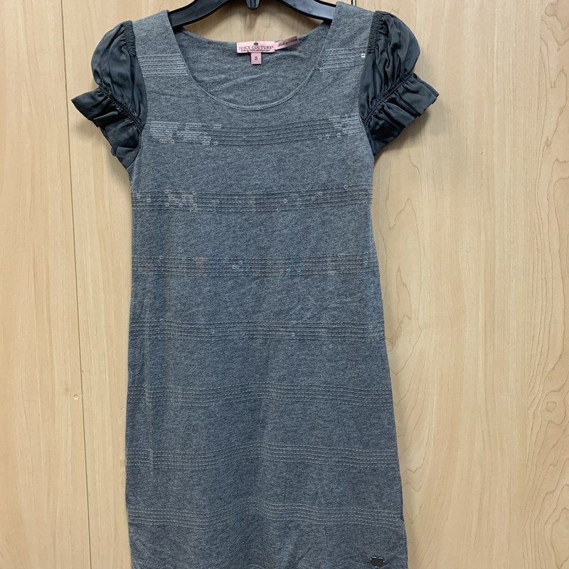 Juicy Couture, Grey, Size: 8<br /> Sequin throughout