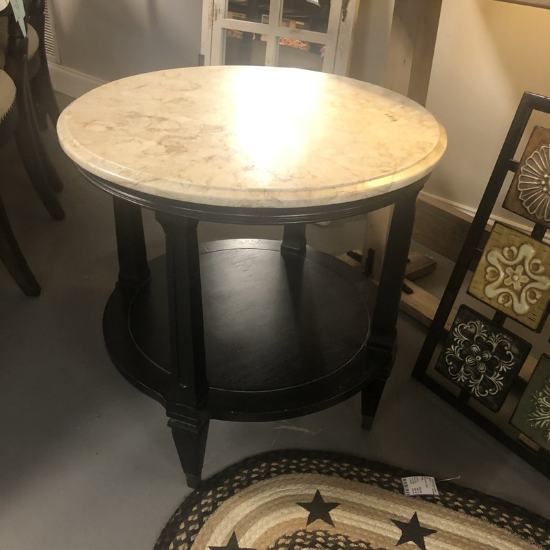 Antique Marble Top Table.