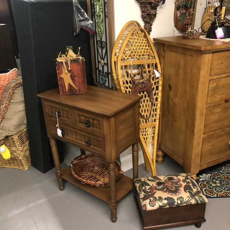 Accent Table W/3 Draws.