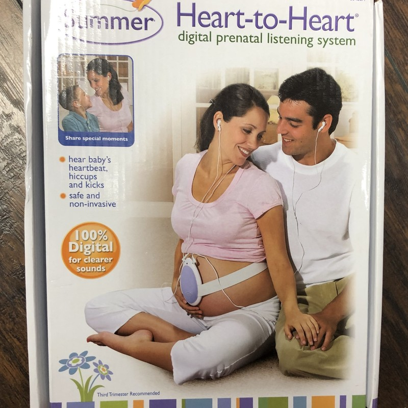 Summer Heart-to-heart Prenatal Listening Device