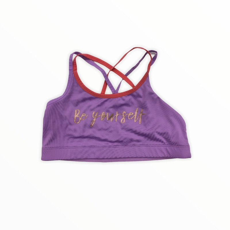 Sports Bra (Purple), Girl, Size: 36<br /> <br /> #resalerocks #pipsqueakresale #vancouverwa #portland #reusereducerecycle #fashiononabudget #chooseused #consignment #savemoney #shoplocal #weship #keepusopen #shoplocalonline #resale #resaleboutique #mommyandme #minime #fashion #reseller                                                                                                                                      Cross posted, items are located at #PipsqueakResaleBoutique, payments accepted: cash, paypal & credit cards. Any flaws will be described in the comments. More pictures available with link above. Local pick up available at the #VancouverMall, tax will be added (not included in price), shipping available (not included in price), item can be placed on hold with communication, message with any questions. Join Pipsqueak Resale - Online to see all the new items! Follow us on IG @pipsqueakresale & Thanks for looking! Due to the nature of consignment, any known flaws will be described; ALL SHIPPED SALES ARE FINAL. All items are currently located inside Pipsqueak Resale Boutique as a store front items purchased on location before items are prepared for shipment will be refunded.