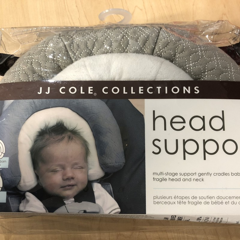 JJ Cole Head Support, Grey, Size: None