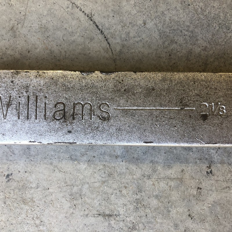 "Williams 1192 SUPERWRENCH 2-1/8"" 12 Pt. Combination Wrench<br /> <br /> *MADE IN USA*"
