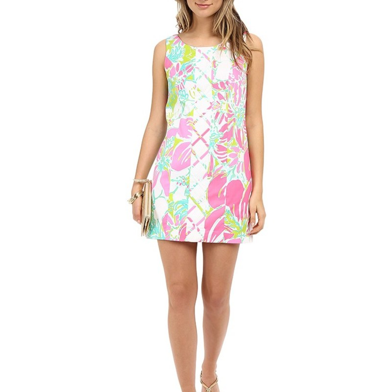 Lilly Pulitzer Women's Cathy Shift Dress Orig.rtl: $178
