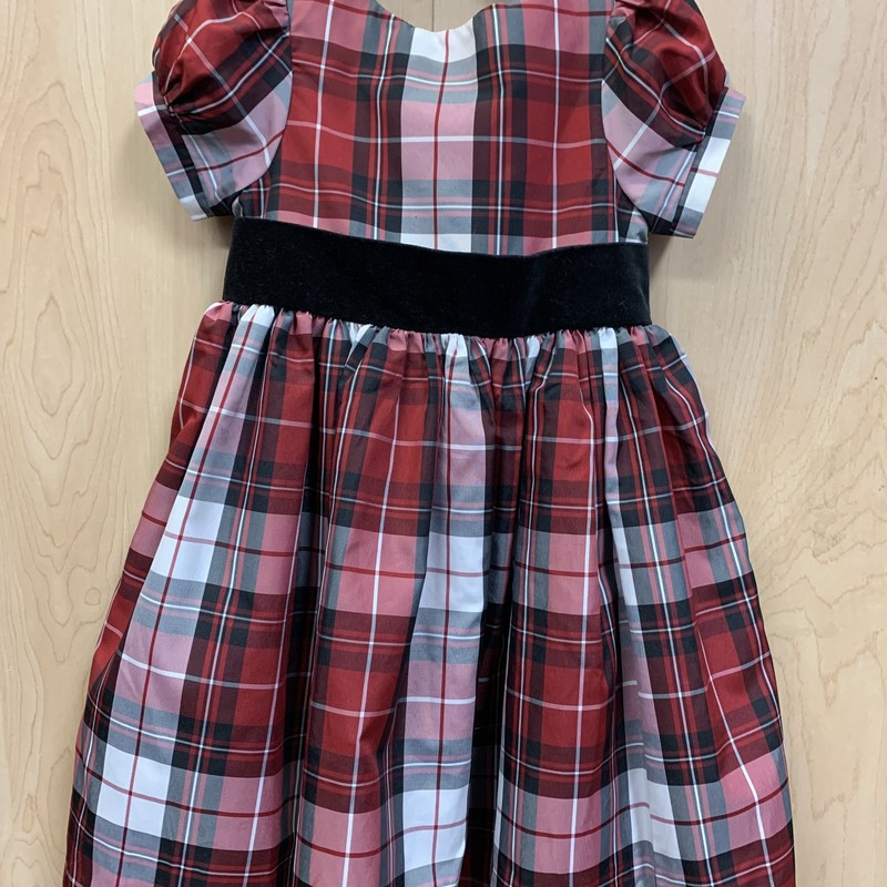 Holiday Dress, Red, Size: 3T