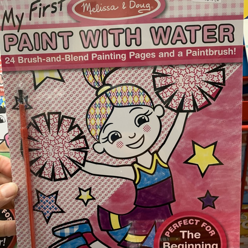 Paint With Water Pink, Beginner, Size: Arts