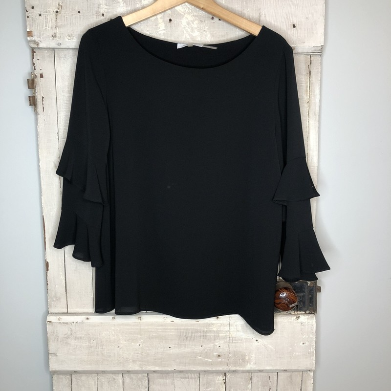 Top CK, Black, Size: Medium