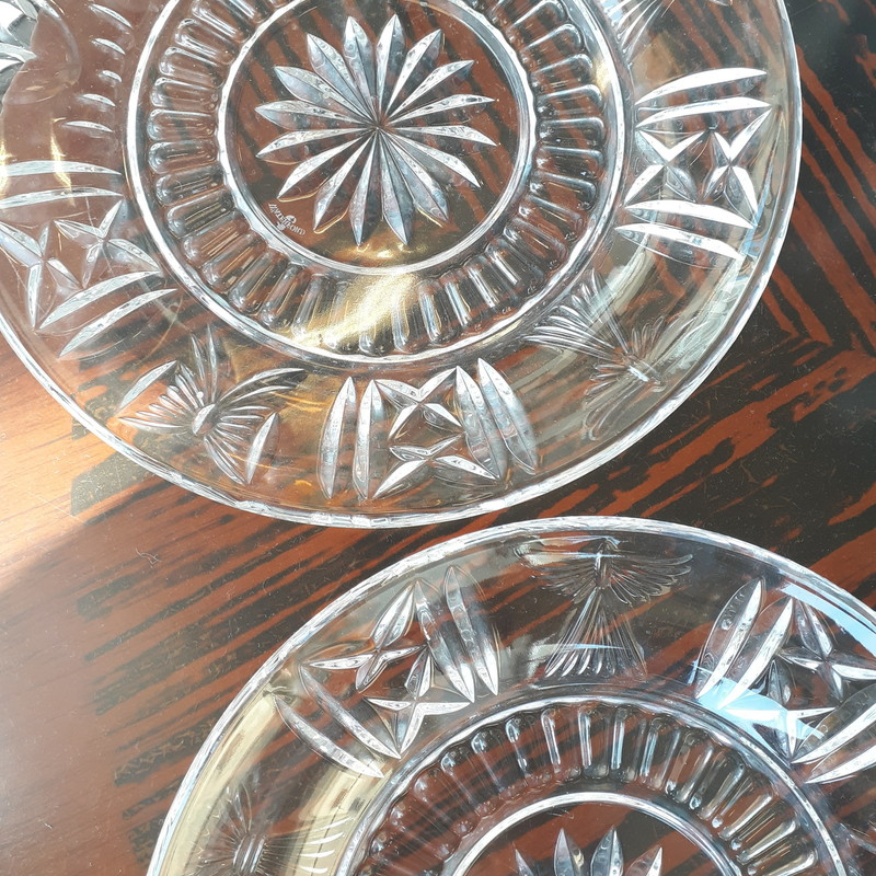 Pr Waterford Crystal Plat, None, Size: None