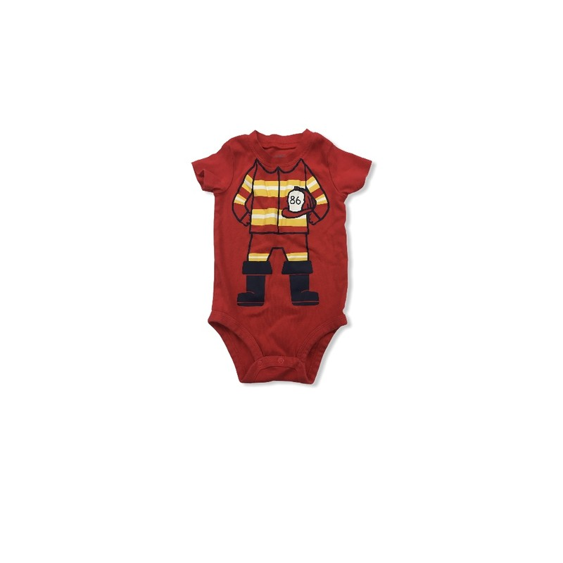 Onesie, Boy, Size: 18m<br /> <br /> #resalerocks #carters #pipsqueakresale #vancouverwa #portland #reusereducerecycle #fashiononabudget #chooseused #consignment #savemoney #shoplocal #weship #keepusopen #shoplocalonline #resale #resaleboutique #mommyandme #minime #fashion #reseller                                                                                                                                      Cross posted, items are located at #PipsqueakResaleBoutique, payments accepted: cash, paypal & credit cards. Any flaws will be described in the comments. More pictures available with link above. Local pick up available at the #VancouverMall, tax will be added (not included in price), shipping available (not included in price), item can be placed on hold with communication, message with any questions. Join Pipsqueak Resale - Online to see all the new items! Follow us on IG @pipsqueakresale & Thanks for looking! Due to the nature of consignment, any known flaws will be described; ALL SHIPPED SALES ARE FINAL. All items are currently located inside Pipsqueak Resale Boutique as a store front items purchased on location before items are prepared for shipment will be refunded.