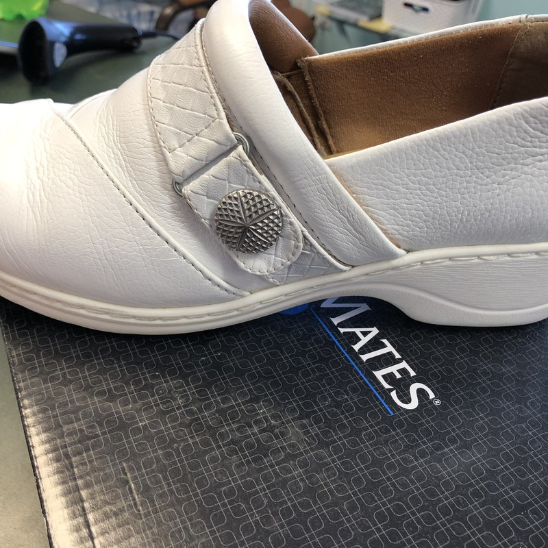 Are your feet tired from standing all day?  These Nurse Mate shoes might help!  They are in gently used condition.