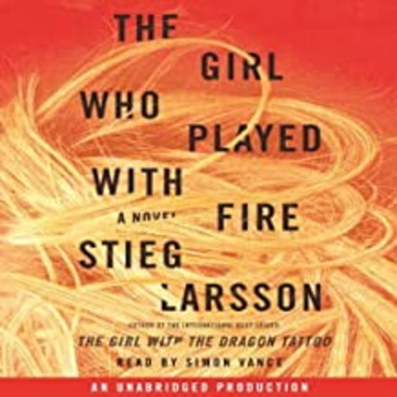 "Audio<br /> Stieg Larsson<br /> The Girl Who Played With Fire<br /> Mystery Thriller<br /> <br /> The electrifying follow-up to the phenomenal best seller The Girl with the Dragon Tattoo (""An intelligent, ingeniously plotted, utterly engrossing thriller"" The Washington Post), and this time it is Lisbeth Salander, the troubled, wise-beyond-her-years genius hacker, who is the focus and fierce heart of the story.<br /> Mikael Blomkvist, crusading journalist and publisher of the magazine Millennium, has decided to publish a story exposing an extensive sex trafficking operation between Eastern Europe and Sweden, implicating well-known and highly placed members of Swedish society, business, and government.<br /> <br /> On the eve of publication, the two reporters responsible for the story are brutally murdered. But perhaps more shocking for Blomkvist: the fingerprints found on the murder weapon belong to Lisbeth Salander.<br /> <br /> Now, as Blomkvist, alone in his belief in her innocence, plunges into his own investigation of the slayings, Salander is drawn into a murderous hunt in which she is the prey, and which compels her to revisit her dark past in an effort to settle with it once and for all."