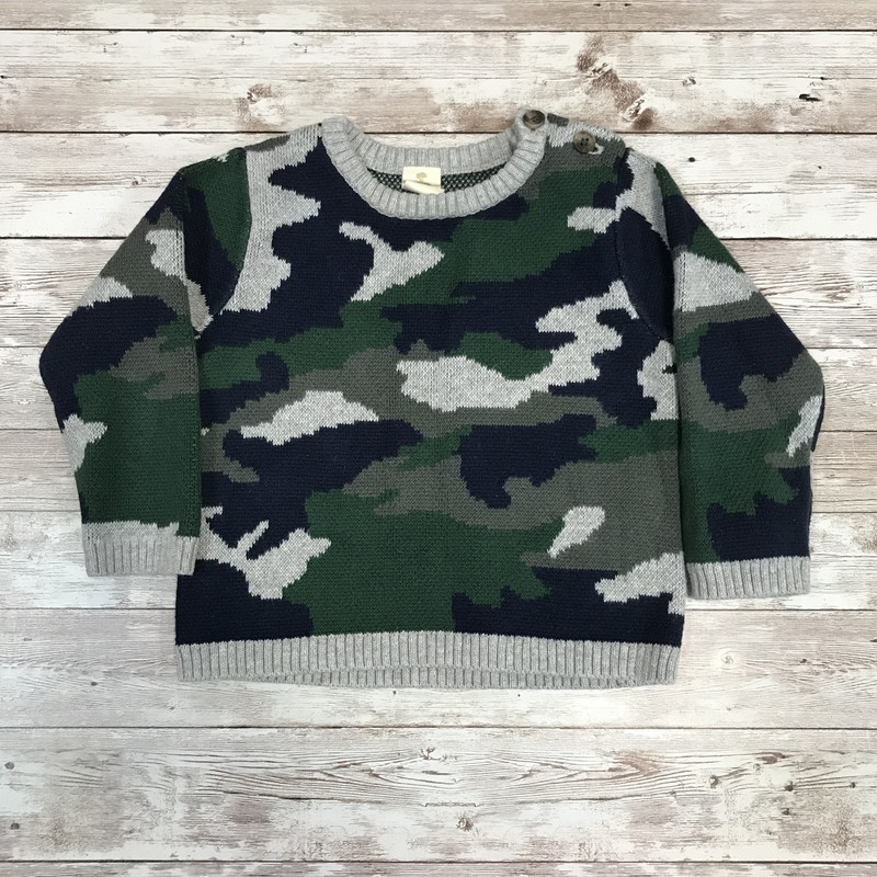Tucker+Tate Camo Sweater.