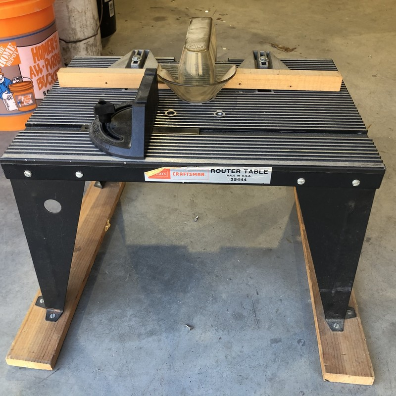 Bench Top Router Table.