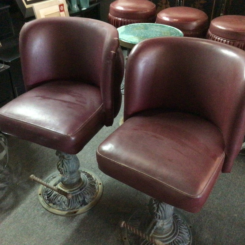 Set Of 2 JRB Barstools.