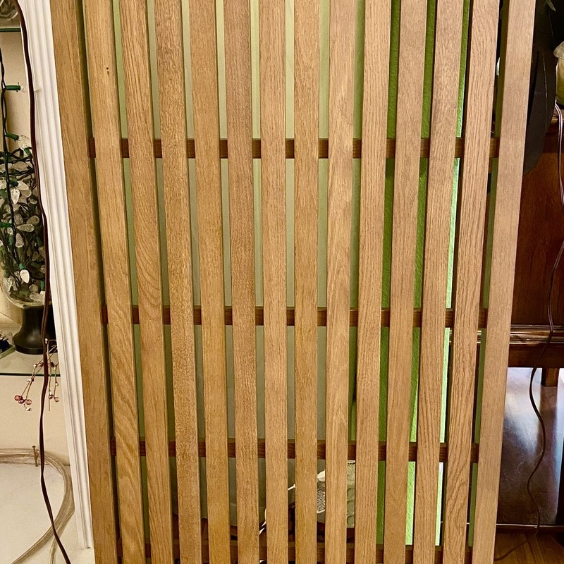 Panels Wall Slatted Crate & Barrel, Wood, Size: 2x5<br /> 6 Slats available - $119 each