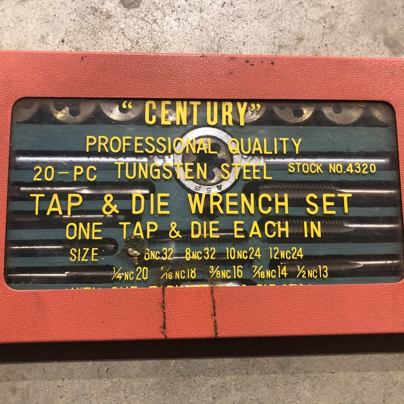 Tap And Die Set.