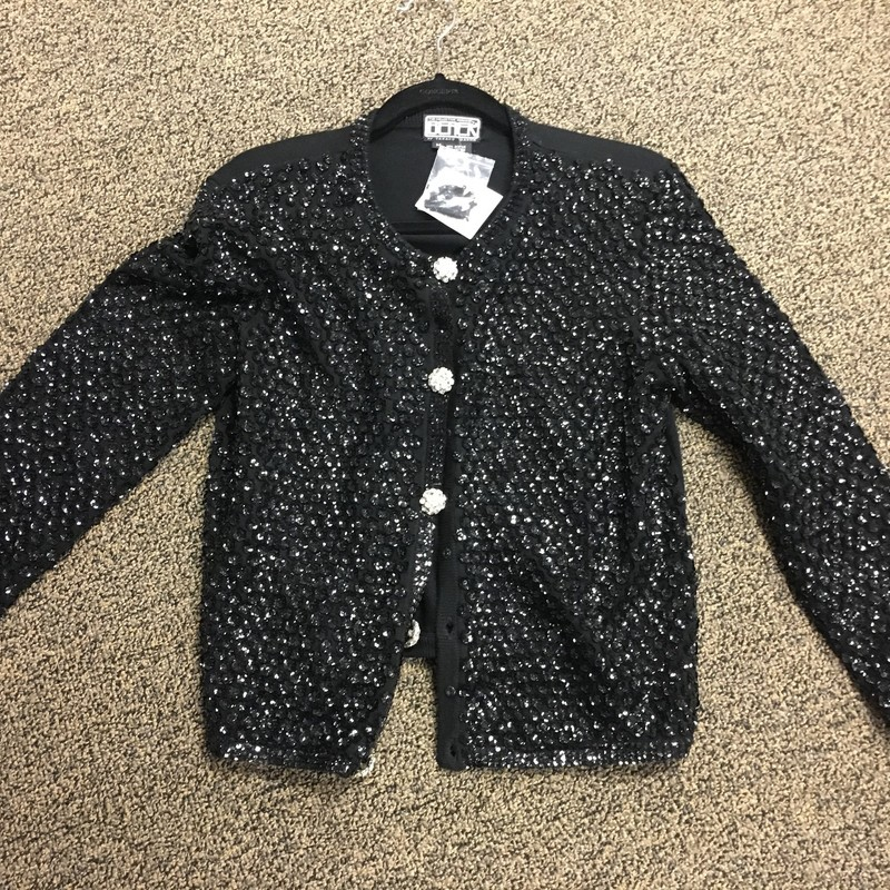 Sequin Cardigan.