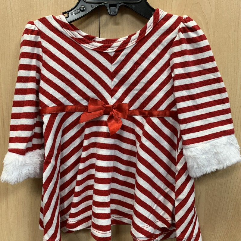 Jessica Ann Holiday, Red/Wht, Size: 6/9M