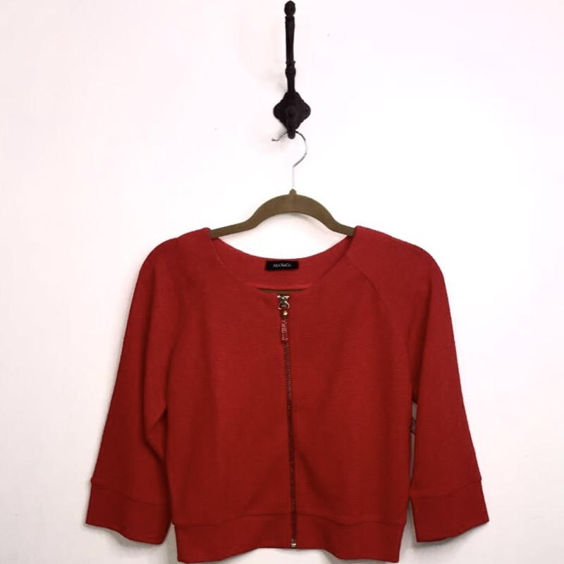 Max + Co Top, Red, Size: S