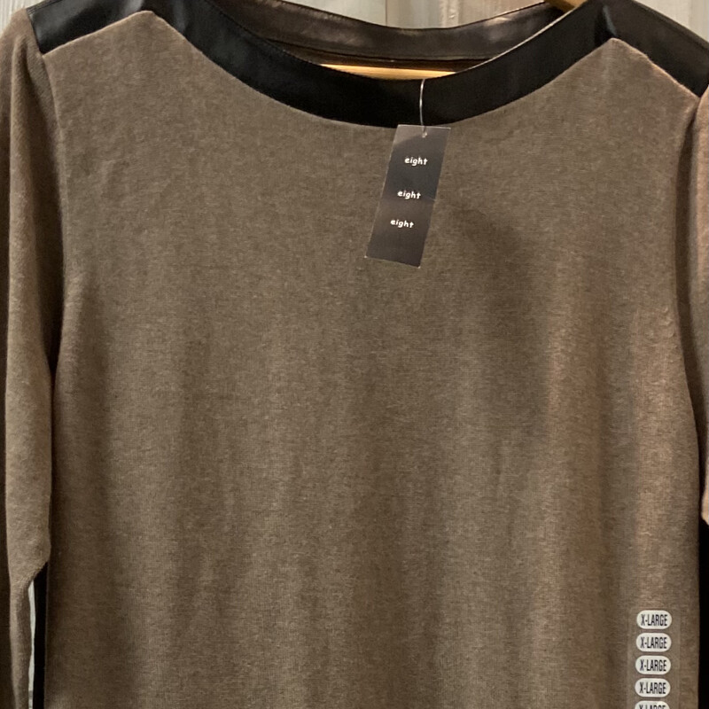 NWT Brown Sweater Tunic.