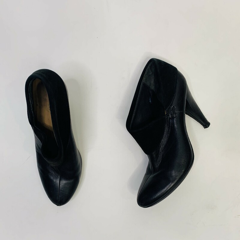 Coach Booties, Blk, Size: 39