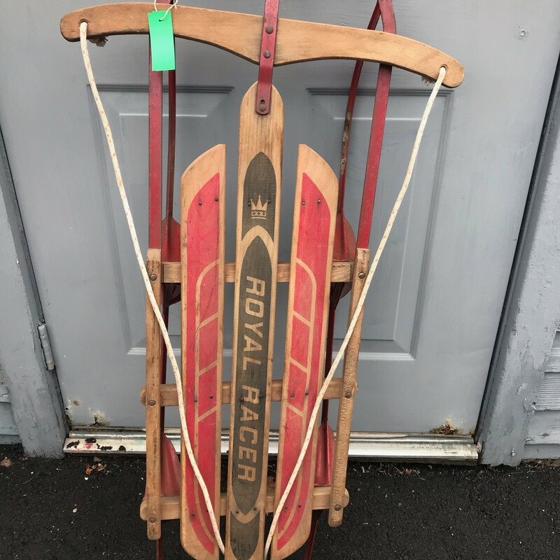 Royal Racer Sled.