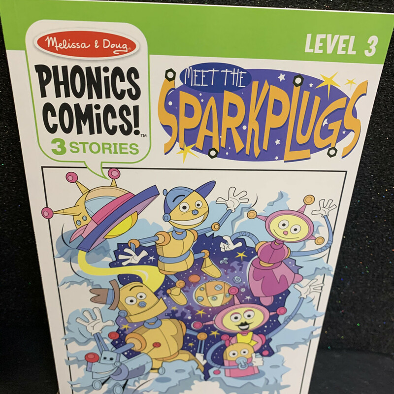 Phonics Comics Level 3, Sparkplu, Size: Book