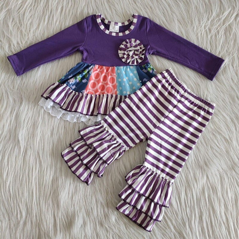 2pc Fashion Ruffle Set.
