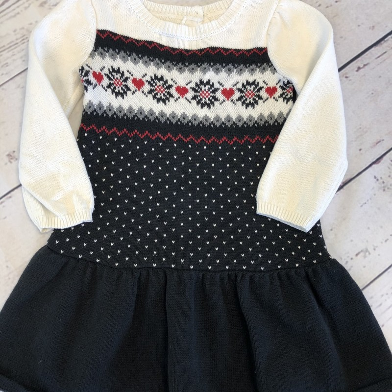 Gymboree long sleeve sweater dress would be perfect for the holiday season, don't wait too long or this will be sold.