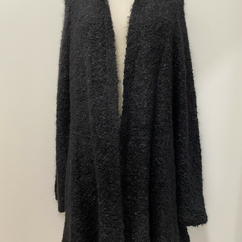 Eileen Fisher Alpaca Cardigan<br /> Color: Black<br /> Size: XL