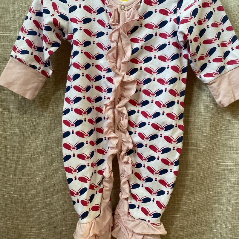 NK Too, White/pi, Size: 6-12m