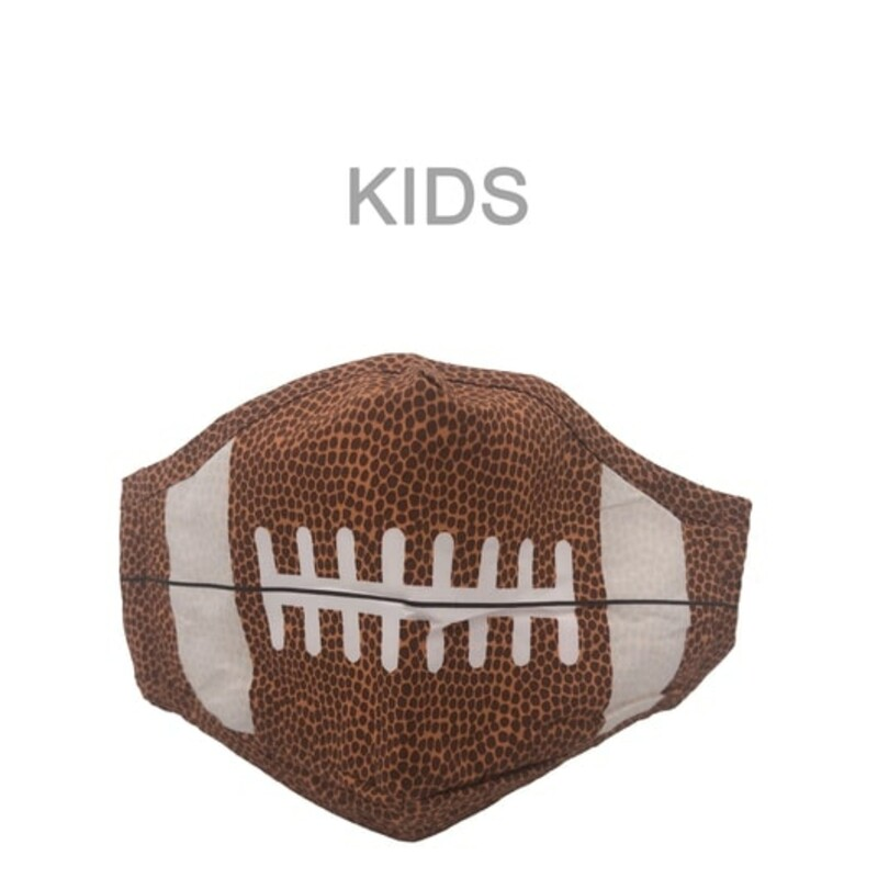 KIDS FOOTBALL MASK.