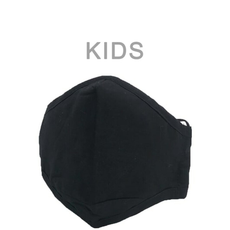 KIDS BLACK MASK.